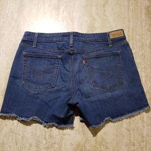 Levis Midrise Cutoff Shorts